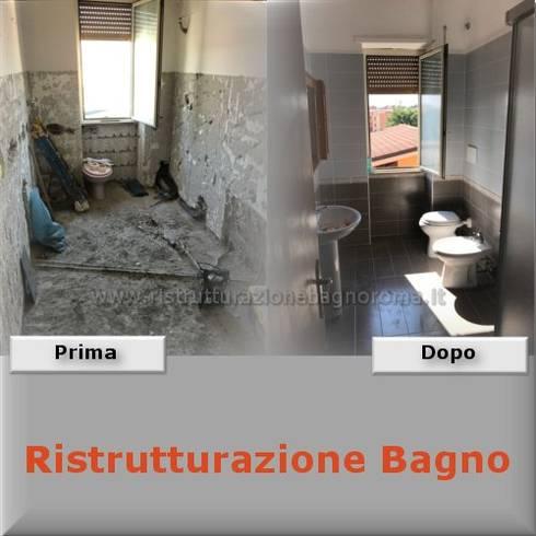 ristrutturazione bagno roma di ristrutturazione bagno roma | homify