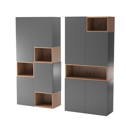 Cabinet Furniture Rendering: classic Dressing room by 3D Rendering India