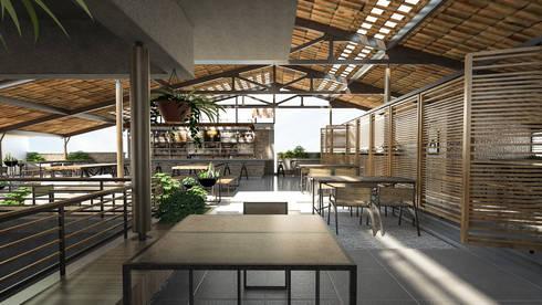 Office & Restaurant Interiors:  Gastronomy by ergate