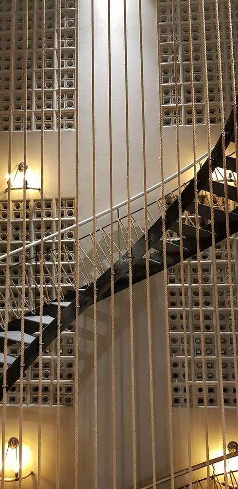 SPACCE interiors:  Corridor & hallway by SPACCE INTERIORS
