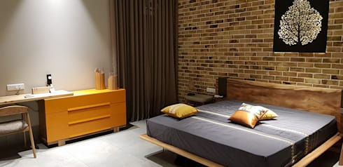 SPACCE interiors: modern Bedroom by SPACCE INTERIORS