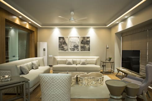 Living room : modern Living room by DESIGNER'S CIRCLE