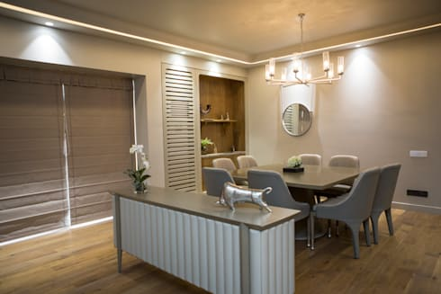 Dining area: modern Dining room by DESIGNER'S CIRCLE