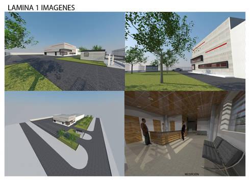 Proyecto Ampliación Planta Inchcape Lampa: Bodegas de estilo  por Incubar: Arquitectura & Construcción