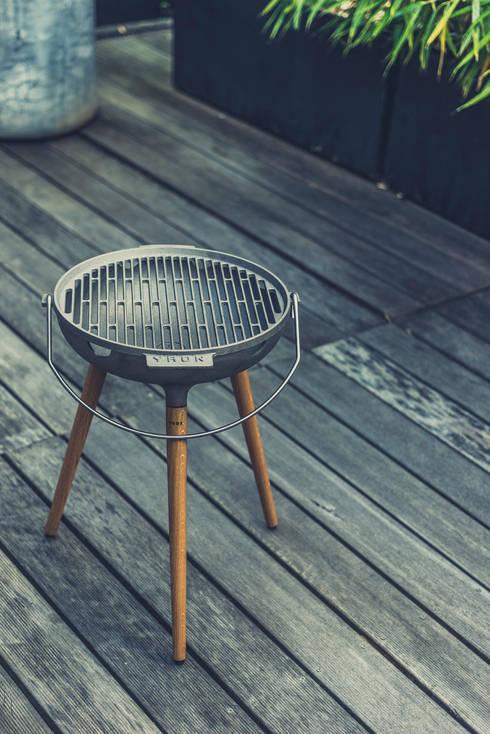 yron er bbq grill f r deinen garten balkon oder deine terrasse auch als feuerschale nutzbar. Black Bedroom Furniture Sets. Home Design Ideas
