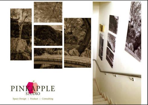 HNI residential:  Corridor & hallway by  PINKAPPLE