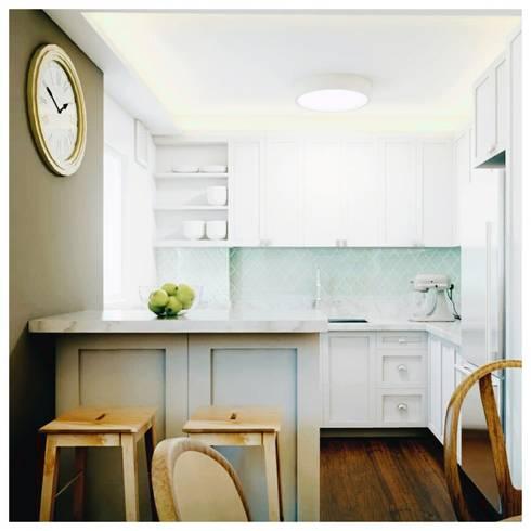 Kitchen: modern Kitchen by Catherine Cena Interiors