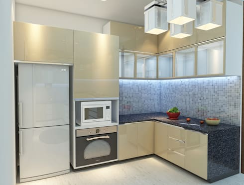 Modular Kitchen - Baner: modern Kitchen by DECOR DREAMS