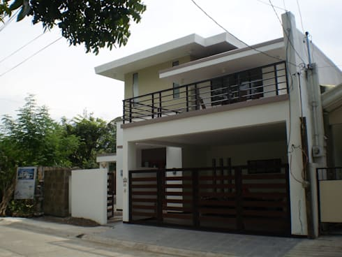 Reconstructed HC-Residence:  Single family home by Ar. Kristoffer D. Aquino