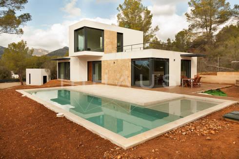 Modelo estepona en mallorca por casas inhaus homify - Casas inhaus ...