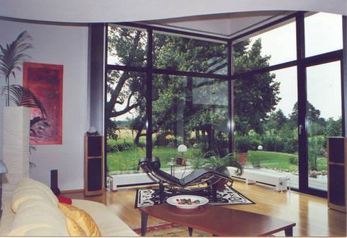 modernes wohnhaus im bauhausstil von architekt witte homify. Black Bedroom Furniture Sets. Home Design Ideas