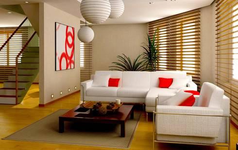 interior designer coimbatore:   by Luxen India Architects
