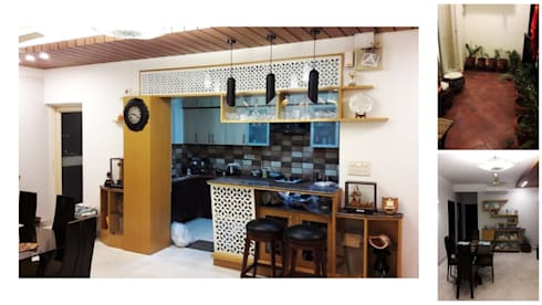 Apartment | Greater Noida: modern Kitchen by Inno[NATIVE] Design Collective