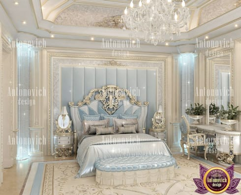 Bedroom definition architecture by Katrina Antonovich: classic Bedroom by Luxury Antonovich Design