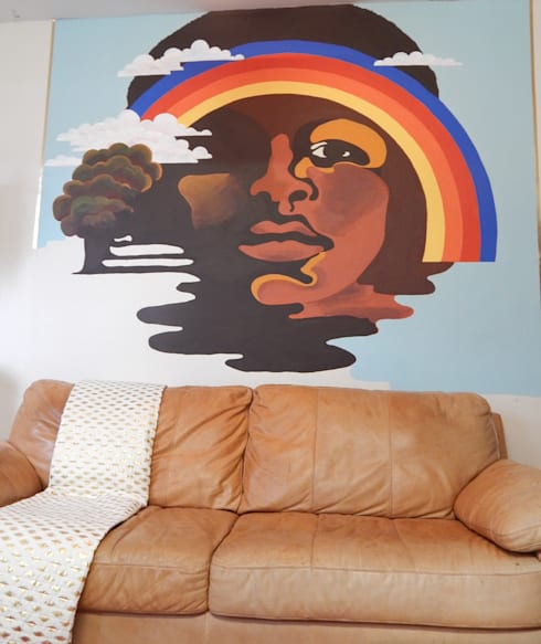 Artwork by Polly Millard, Interior Decorater