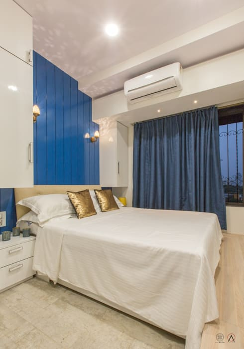 Apartment for Mr & Mrs Merchants, Mazgaon:  Bedroom by Design Ka:Tha