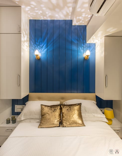 Apartment for Mr & Mrs Merchants, Mazgaon: modern Bedroom by Design Ka:Tha