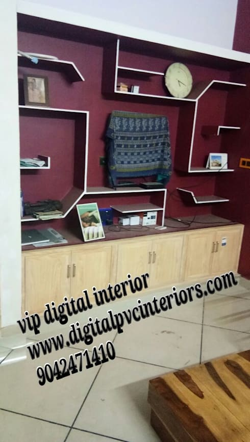 pvc interior in whitefield bangalore:   by vip digital interior in bangalore