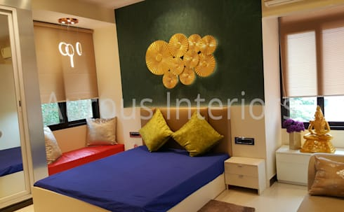 Project: modern Bedroom by Aurous Interiors