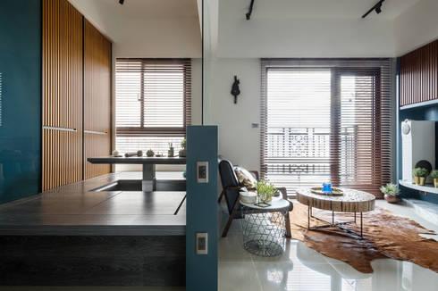 asian Study/office by DYD INTERIOR大漾帝國際室內裝修有限公司