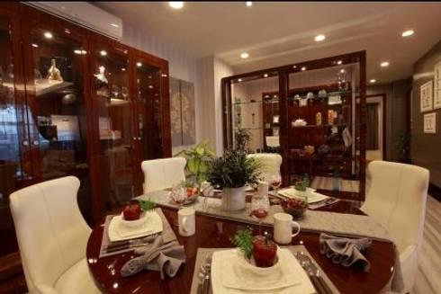 Apartment luxury: modern Living room by Magna Mulia Mandiri