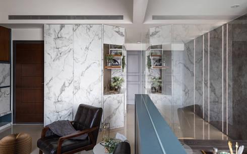 asian Dining room by DYD INTERIOR大漾帝國際室內裝修有限公司
