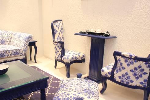 asian Living room by Milav Design
