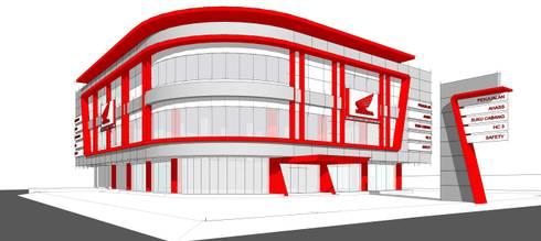 HONDA MSK showroom:   by GUBAH RUANG studio