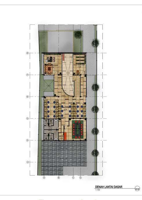 AGUNG CONCERN branch office:   by GUBAH RUANG studio