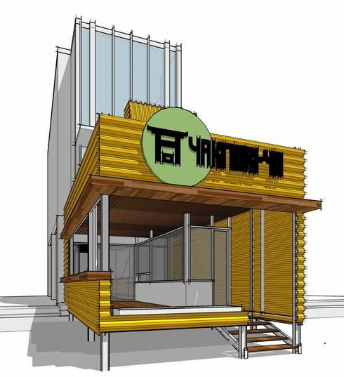 YAKITORI-YA restaurant:   by GUBAH RUANG studio
