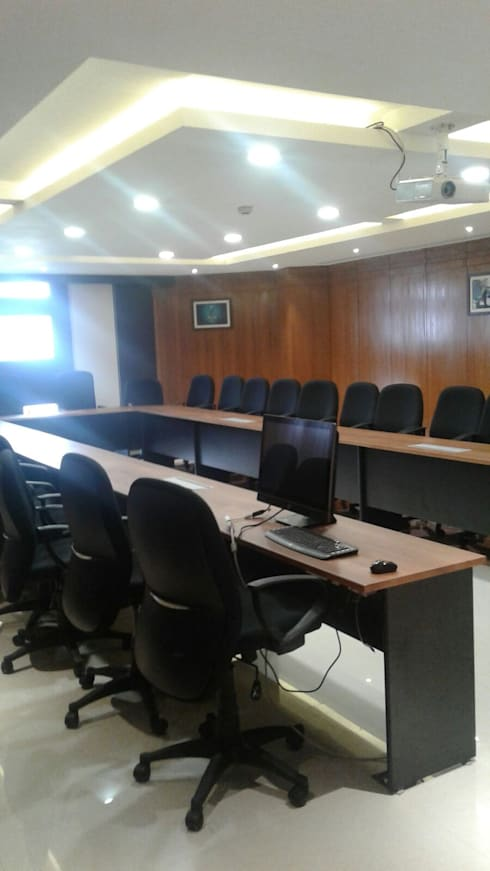 HPCL, Bhuvneshwar Regional Office:  Conference Centres by HOME CITY LIFESTYLE