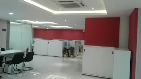 HPCL, Bhuvneshwar Regional Office:  Office buildings by HOME CITY LIFESTYLE