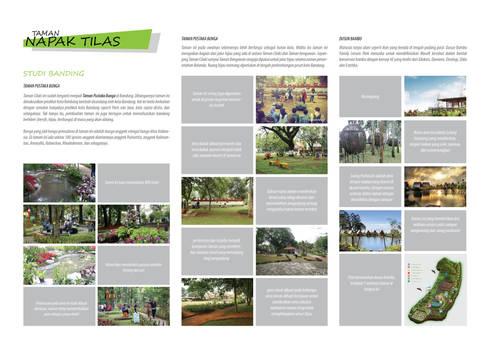 NAPAK TILAS park:   by GUBAH RUANG studio