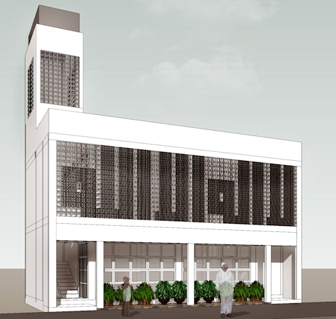 WAKAF mosque :   by GUBAH RUANG studio