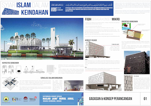 NURUL AMAL mosque :   by GUBAH RUANG studio