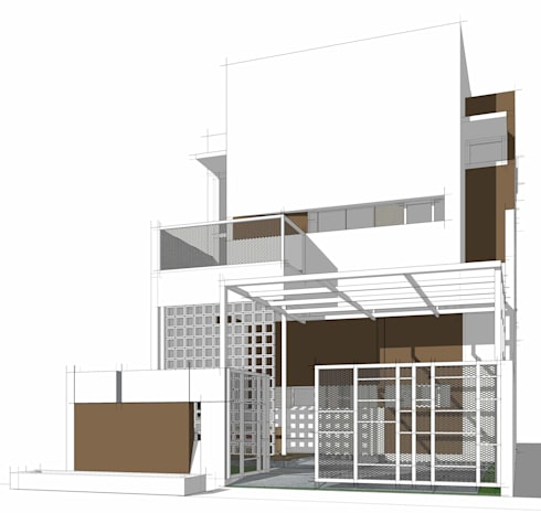 WB residence:   by GUBAH RUANG studio