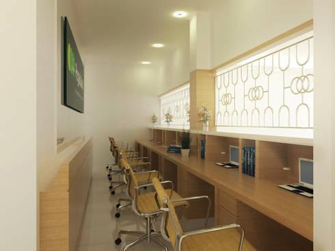 PEGADAIAN office:   by GUBAH RUANG studio