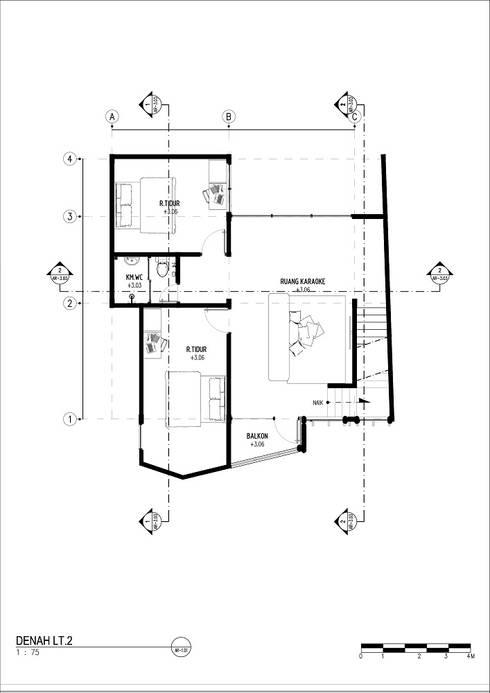 A residence:   by GUBAH RUANG studio