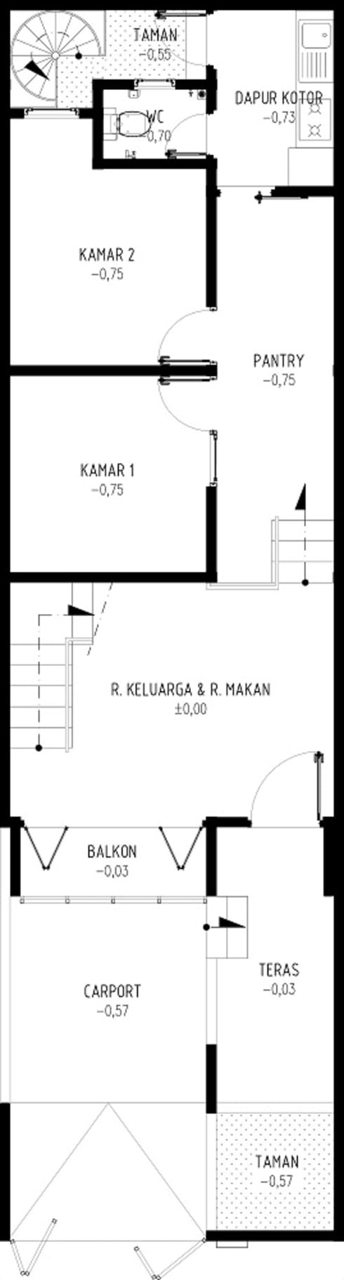 C2 HOUSE:   by GUBAH RUANG studio