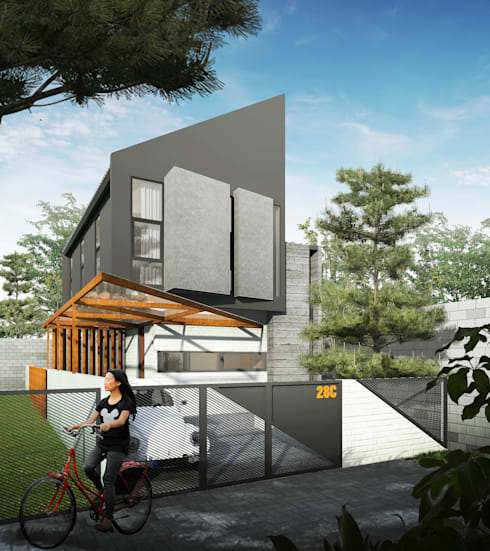 Projekty,   zaprojektowane przez GUBAH RUANG studio