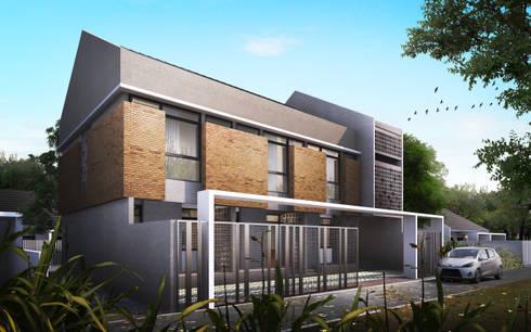 J N - Boarding House:   by GUBAH RUANG studio