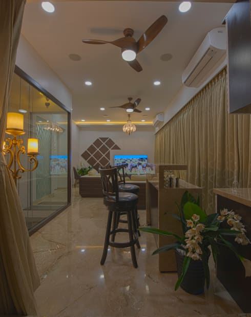 Mr. Shah's Residence : To create a Luxurious Lifestyle Design: modern Kitchen by Banaji & Associates
