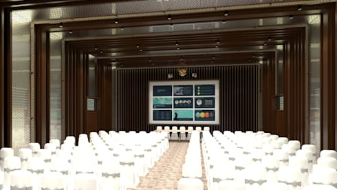 Interior Design PT Antam Pongkor:  Ruang Kerja by CAA Architect
