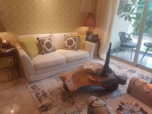 Project: modern Living room by JK DEZIGN