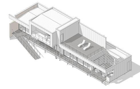 Casa Schnohr :  de estilo  por AtelierStudio
