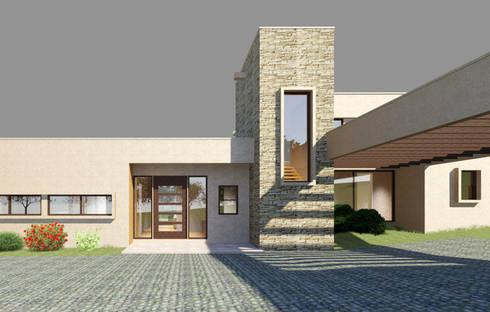 Casa Guardia :  de estilo  por AtelierStudio