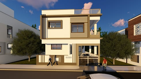 Front:   by Cfolios Design And Construction Solutions Pvt Ltd