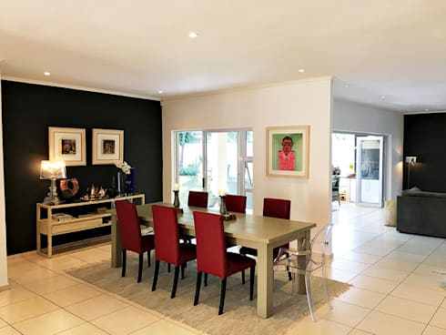 House Linden—Johannesburg: modern Dining room by House of Gargoyle