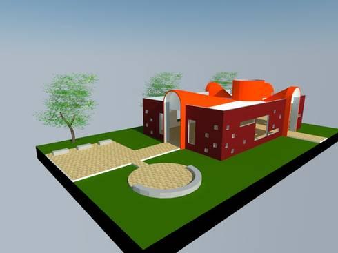 6: Salas multimedias de estilo  por OMD Arquitectos