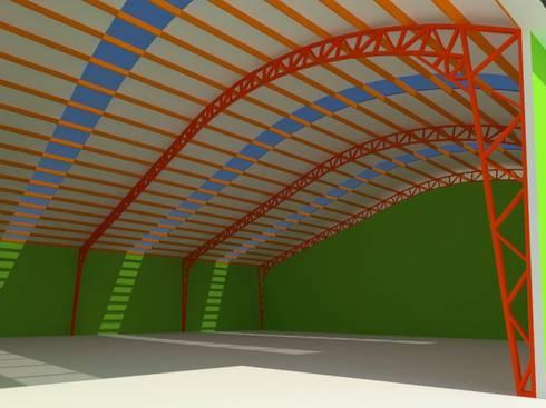 4: Oficinas y Comercios de estilo  por OMD Arquitectos